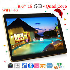 9.6'' Android 6.0 Quad Core Tablet PC 1GB+16GB Dual Camera Wifi 4G Bluetooth New