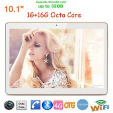 10.1'' Android 5.1 Octa Core Tablet PC 1G+16GB Dual Camera WiFi 4G Bluetooth New