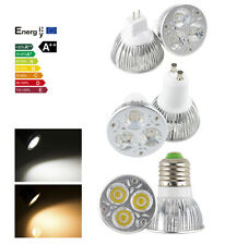 9W Dimmable LED E27 GU10 MR16 CREE High Power LED Spotlight Bulb Lamp Light