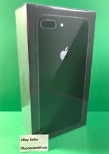 NEW Apple iPhone 8 Plus 64GB - Space Gray Black - GSM Unlocked AT&T Cricket NEW