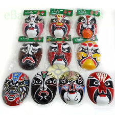 1/2/3/5/10PCS Masquerade Paper Pulp Hand Painted Costume Party Peking Opera Mask