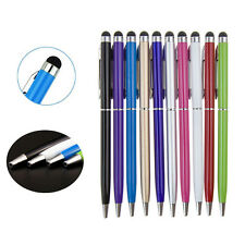 1/5/10X 2in1Touch Screen Stylus Ballpoint Pen for iPad iPhone Samsung Tablet@#