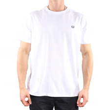 Fred Perry Crew Neck T Shirt - White