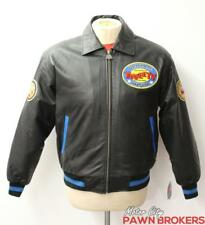 Classic Looney Tunes Collection, Tweety Bird, Men's, Black Leather Jacket NEW