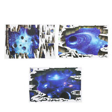 3D Blue Galaxy Floor/Wall Stickers Removable Art Decal Mural Home Bedroom Decors