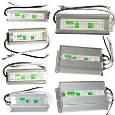AC 110V-220V TO DC12V 24V Switch Waterproof Power Supply Driver LED Strip Light