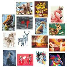 40x50cm DIY Paint By Number Kit On Canvas Oil Painting Home Wall Decor Gift