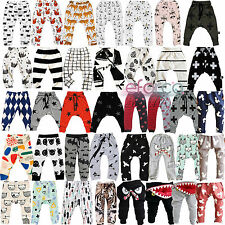 Baby Boy Girl Harem Sport Pants Kid Toddler Sweat Bottom Leggings Trouser Clothe