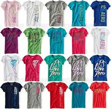 AEROPOSTALE KIDS GIRLS PS GRAPHIC T-SHIRT SIZE 4-14 NWT SALE GIFT GLITTER NYC