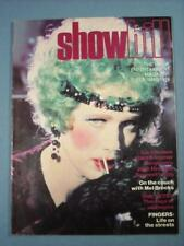 FEB/MARCH 1978 SHOWBILL MOVIE ENTERTAINMENT MAGAZINE LIV ULLMANN, MEL BROOKS
