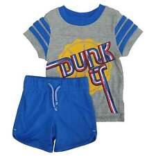Infant Boys 2-Piece Dunk It Basketball T-Shirt & Athletic Shorts Set