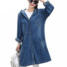 Women Autumn Winter New Fashion Casual Hooded Outerwear Loose Jacket