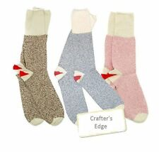 NEW Original Rockford Red Heel SOCKS by FoxRiver Brown Pink Blue Sock Monkey