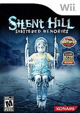 Silent Hill: Shattered Memories (Nintendo Wii, 2009) - Complete - Authentic