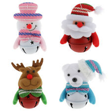 Christmas Holiday Hanging Santa Claus Snowman Bells Ornaments Home Party Decor