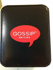 Gossip Watches with leather strap various designs and Colours boxed