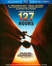 127 Hours (Blu-ray Disc, 2011, 2-Disc Set, Includes Digital Copy) Brand New