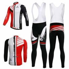 Men Cycling Bike Long Sleeve Clothing Bicycle Sports Wear Set Jersey Quick Dry