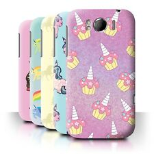 STUFF4 Back Case/Cover/Skin for HTC Sensation XL/G21/Fantasy Unicorn