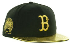 Boston Red Sox Men's 59FIFTY New Era MLB 59th Anniversary Gold Fitted Hat Cap