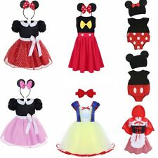 Childrens Fancy Dress Mini Cute Mouse Halloween Party Costume Girls Outfit Set