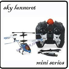 GYRO Metal 3.5Ch Mini Sky Lanneret Helicopter 19cm Gift