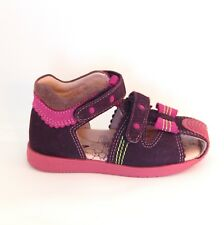BARTEK - quality, leather, European kids, toddler, shoes, sandals, casual, pink