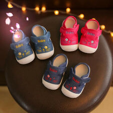 New Cute Infant Baby Shoes Boy Girl Walking Shoes Soft Toddler Baby Casual Shoes