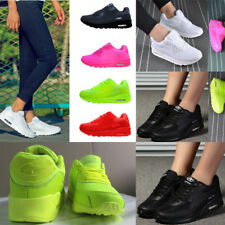 Womens Girls Casual Mesh Sneakers Air Cushion Athletic Trainers Running Shoes