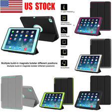 Heavy Duty Shockproof Stand Smart Cover Protective Case For Apple iPad Air 2 USA