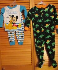 Carters Disney Sleepwear PJ Boy 1 2 3 piece boy 0-3M 3-6M 12M 18M 24M 2T lot NWT