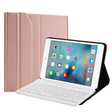Cover Stand Leather Case Wireless Bluetooth Keyboard For Apple iPad Mini4