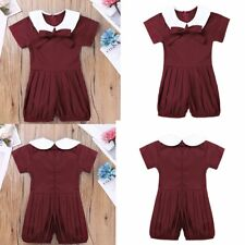 Newborn Infant Baby Girl Bodysuit Romper Jumpsuit Outfits Summer Clothes Hot