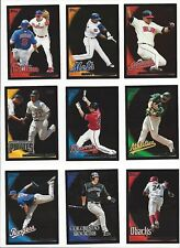 2010 TOPPS  - WALMART BLACK PARALLEL - WHO DO YOU NEED!! #'S 286-490
