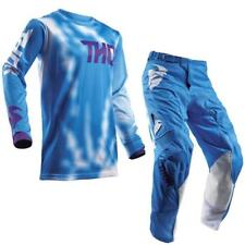 Thor Pulse Air Youth Motocross Children Jersey and Trousers 2018 - Blue Endu