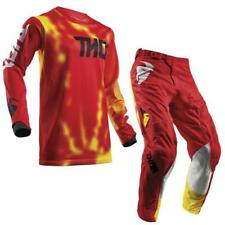 Thor Pulse Air Radiate Motocross Jersey and Trousers 2018 - RED ENDURO MX