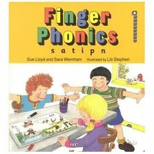 Finger Phonics Book 1 : S, a, t, i, p, N  by Sue Lloyd and Sara...