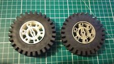 Lego Technic wheel 3739/3740 24x43 Technic Hub with Black Tyre. choose colour