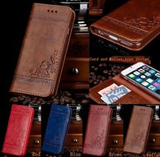 Leather Flip Wallet Phone Case Cover Stand for iPhone 7 6 6SPlus Samsung Note