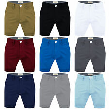 Mens Chino Shorts Summer Cotton Twill Cargo Combat Jeans Half Pants Casual New