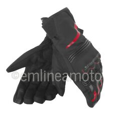Motorcycle Gloves Dainese Tempest Unisex D-dry Black/Red