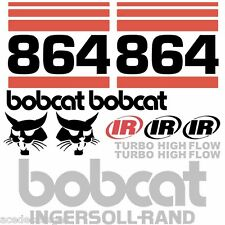 ANY MODEL Bobcat 864 DECALS Stickers Skid Steer loader New Repro decal Kit