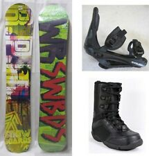 "NEW GRAY ""R.P.M."" SNOWBOARD, BINDINGS, BOOTS PACKAGE - 153cm"