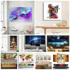 Modern Huge Canvas Print Oil Painting Pictures Art Home Wall Decor Unframed