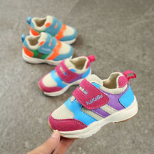 Breathable Kids Boy Girl Sports Shoes Sneakers Toddler Baby Casual Walking Shoes