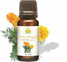 CROCON YELLOW MARIGOLD OIL 100% NATURAL PURE UNDILUTED UNCUT ESSENTIAL OIL 5ML T