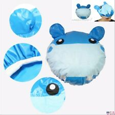 Cute Cartoon Animal Shower Cap Waterproof PVC Bath HairCover Protector ShowerCap