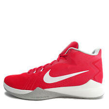 Nike Zoom Evidence [852464-601] Men Basketball Shoes Red/White-Wolf Grey