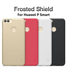 For Huawei P smart Case Nillkin Matte Hard PC Back Cover Thin Shield + LCD Film