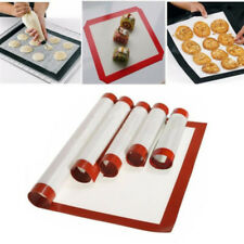 Baking Mat Oven Tray Sheet Non-Stick Silicone Baking Pad For Cake Cookie 4 Sizes